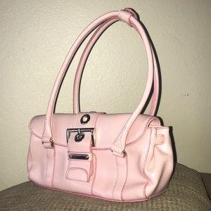 2Tone Pastel Pink Rina Rich Purse Faux Leather ❤️